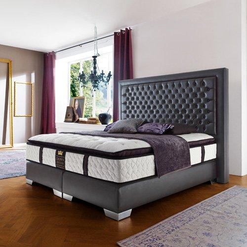 luxus bett catlitterplus. Black Bedroom Furniture Sets. Home Design Ideas